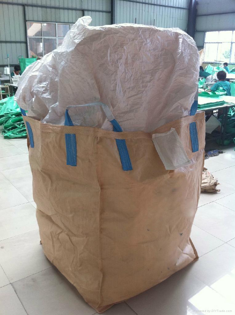 1 Tonne Builders Garden Waste Jumbo Storage Sacks 85 x 85 x 85cm