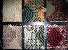 100% polypropylene cut pile tufted carpet