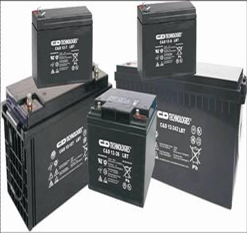 河北张家口大力神电池C&D12-100L 1