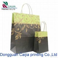 recyclable elegant design custom paper bags