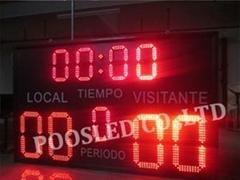 led electronic digital gymnastics scoreboard for sale