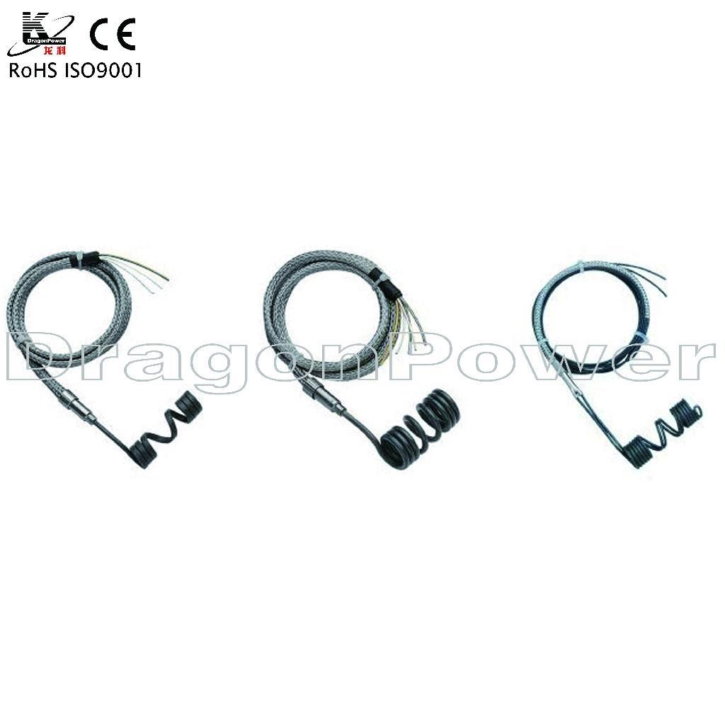 High density hot runner coil heaters 5
