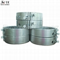 Mica heater for extrusion machine