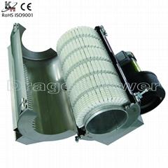 Air cooling ceramic heater with ceramic