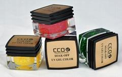 CCO glitter nail polish gel