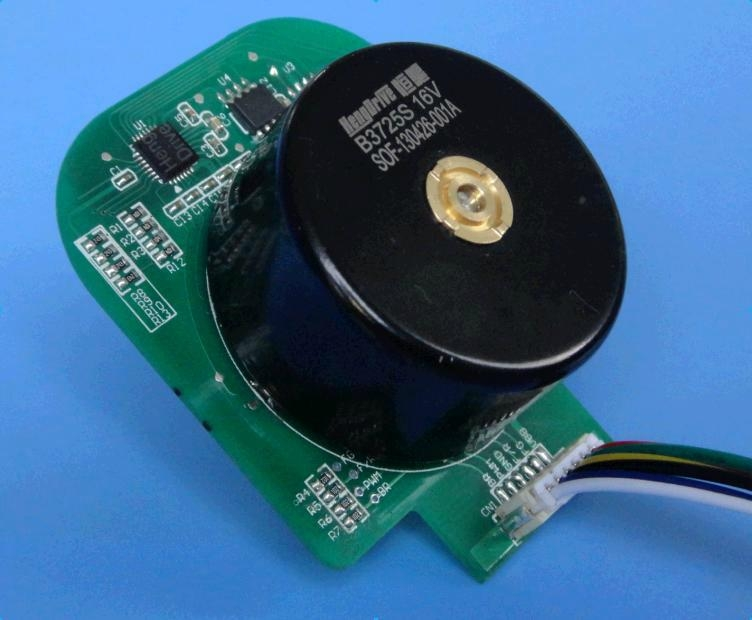 Hengdrive Bldc Motor B3725s For Small Power Cross Flow