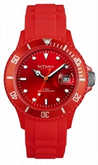 New products for 2013 Intimes silicon watch unisex Japan quartz movt.5ATM