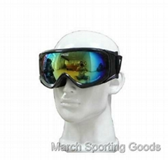 Deluxe Snowboard Ski Goggles Skating Snow Sports Eyewear Dual PC Lens