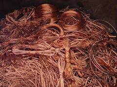 COPPER WIRE SCRAP 99.9% purity