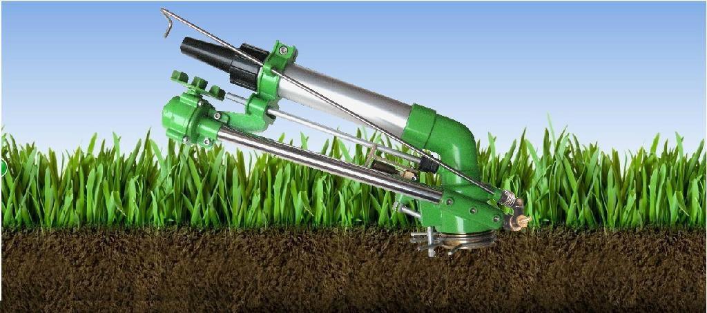 Sprinkler gun for hose reel irrigation system hy