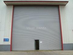 windproof steel rolling door automatic