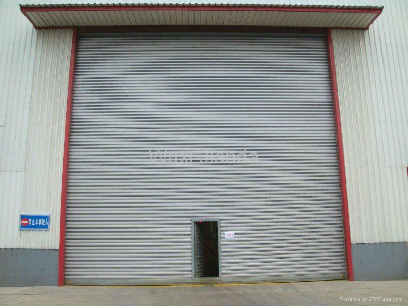 windproof steel rolling door automatic 1