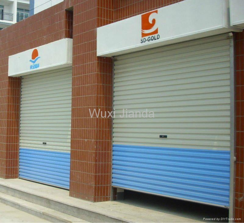 windproof steel rolling door automatic 2