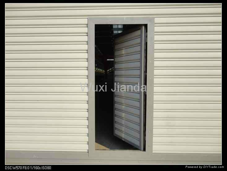 windproof steel rolling door automatic 5