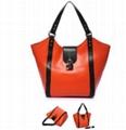 Orange Leather Handbags