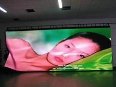 Factory wholesale P18.25mm FLC Flexible LED Curtain