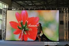 Factory wholesale P25mm FLC Flexible LED Curtain