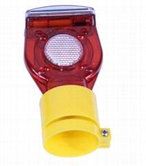 Solar Traffic Warning Lamp