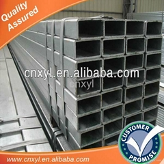tianjin Pre galvanized hollow rectangular structural steel price
