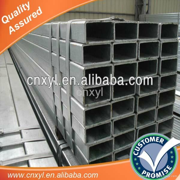 tianjin Pre galvanized hollow rectangular structural steel price 1