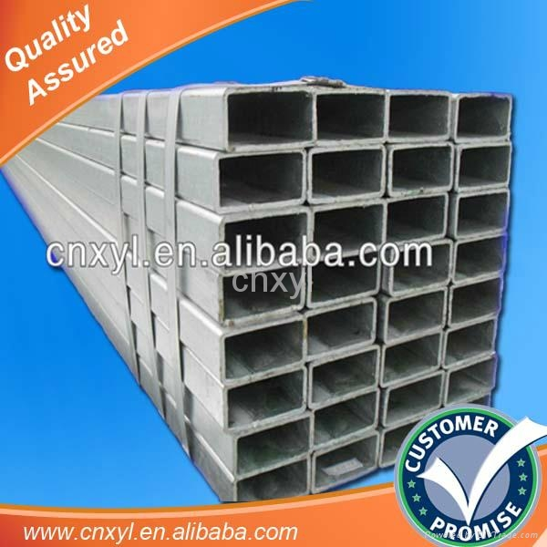 tianjin Pre galvanized hollow rectangular structural steel price 2