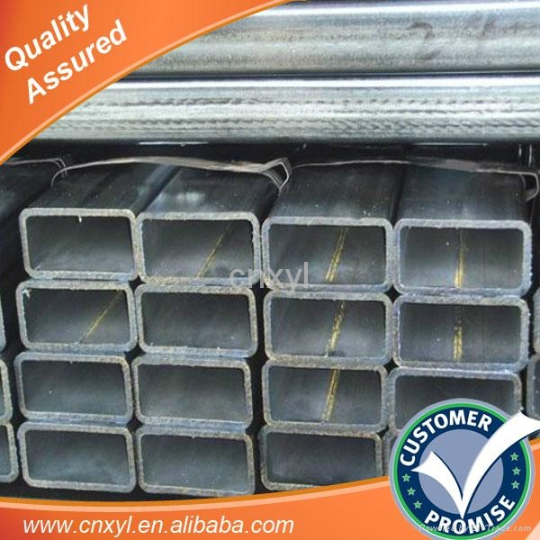tianjin Pre galvanized hollow rectangular structural steel price 3