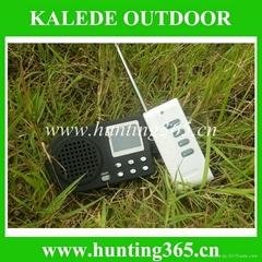 打猎诱鸟器带遥控装置