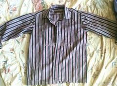 used clothing-men long sleeve shirt