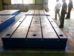 供应迅达铸铁基础平台,专业生产基地