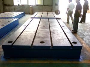 供应迅达铸铁基础平台,专业生产基地 1