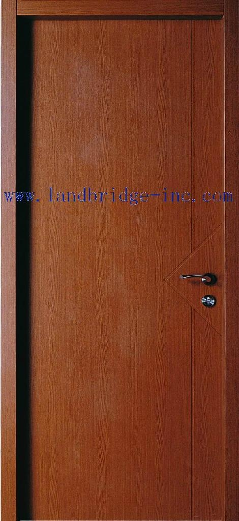 Interior mdf door with pvc cheap price lbd 015 china manufacturer wooden timber door for Where to buy cheap interior doors