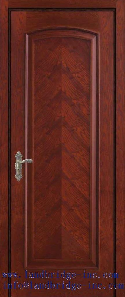 Solid Wood Door Luxury Design Lbd 620 China