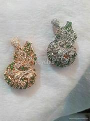 Fluke luxurious natural color Firenze Necklace