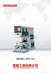 WN-121 WINON Single Colour Inkwell Pad Printing Machine