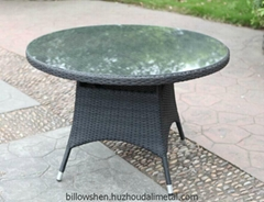 All Weather Wicker Outdoor Dining Table