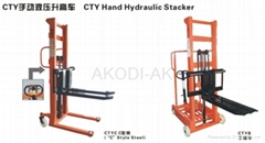 CTY Hand Hydraulic Stacker