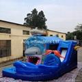 best design inflatable shark combo
