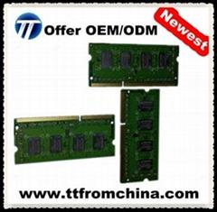 Newest original laptop memory ram 4gb ddr3 1600mhz pc128000