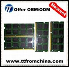 Cheap pc12800 1600mhz laptop 8gb ddr3 ram