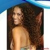 Glueless afro kinky curly indain remy human hair lace front wig with combs