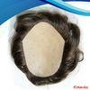 Comfortable and Breathable indian remy human hair mens wigs 1