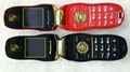 2013 Hot Sale Portable/Mini/Car Key Unlocked Mobile Phone GSM Dual SIM Bluetooth 3
