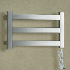 wide electric wall towel rail stainless steel heater for bathroom