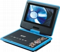 旋转便携式DVD带模拟电视游戏