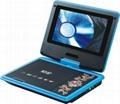 Swivel PDVD with Analog TV Game MPEG4 USB  1