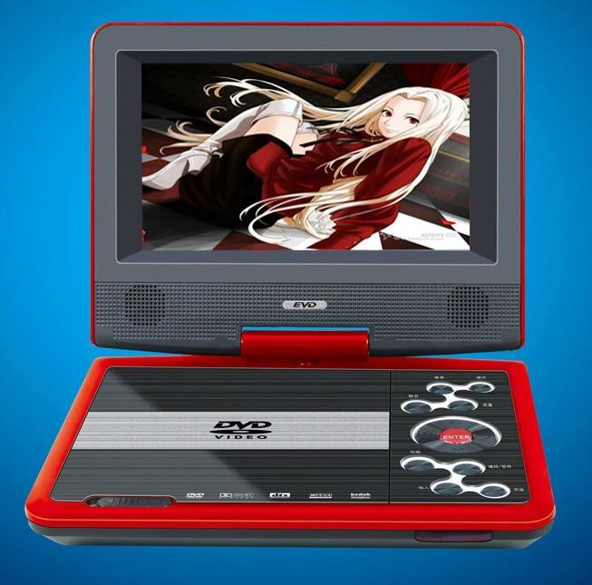 Swivel PDVD with Analog TV Game MPEG4 USB  3
