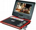7寸便携式DVD播放器带DVD/TV/FM/USB/游戏兼3D 功能 3
