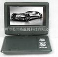 7寸便携式DVD播放器带DVD/TV/FM/USB/游戏兼3D 功能 4
