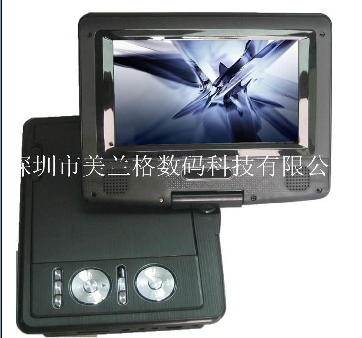 7寸便携式DVD播放器带DVD/TV/FM/USB/游戏兼3D 功能 5