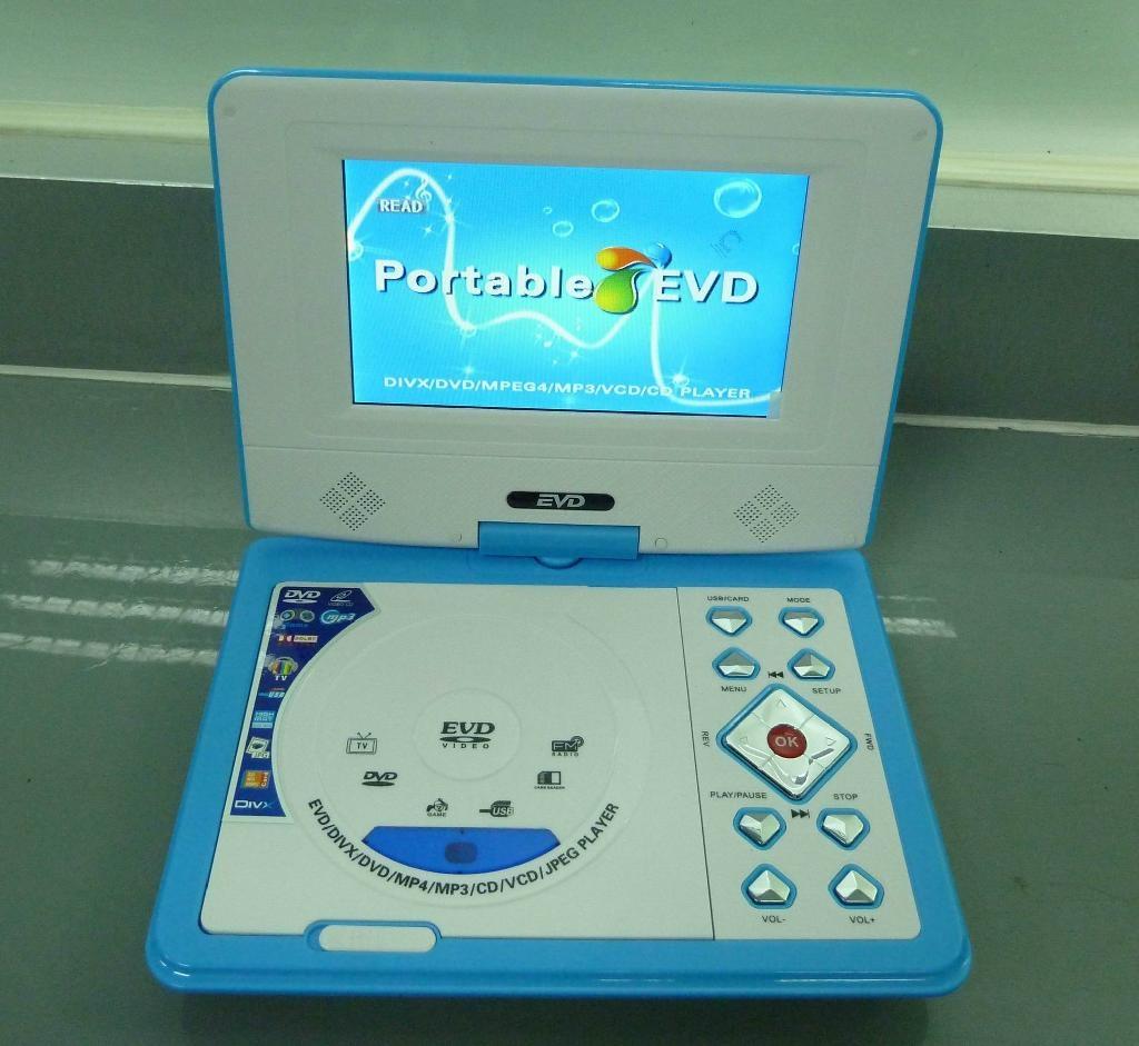 迷你型7寸便携式DVD播放器带游戏/USB/MPEG4/TV功能 2